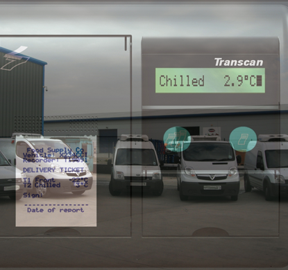 refrigerated van Temperature-Monitoring