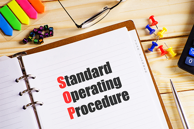 bespoke standard operating procedure